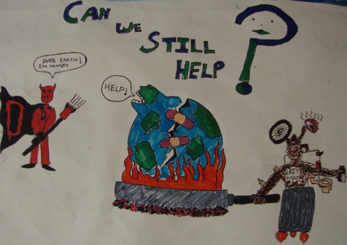 Can we still help, Earth Day