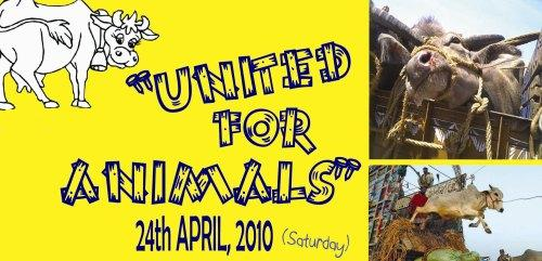 Invite to United for Animals: A Citizens Rally at Jantar Mantar
