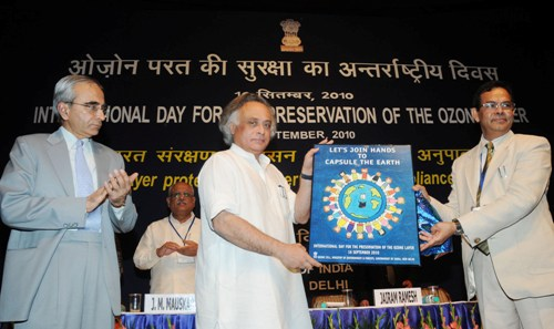 International Ozone Day Celebrated, MoEF Gives Away Green Awards