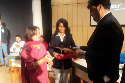 Aastha Kukreti Wins Green Warrior Award