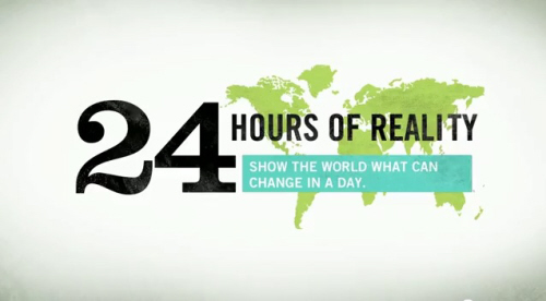 24 Hours of Reality Today: Change Climate Change in a Day
