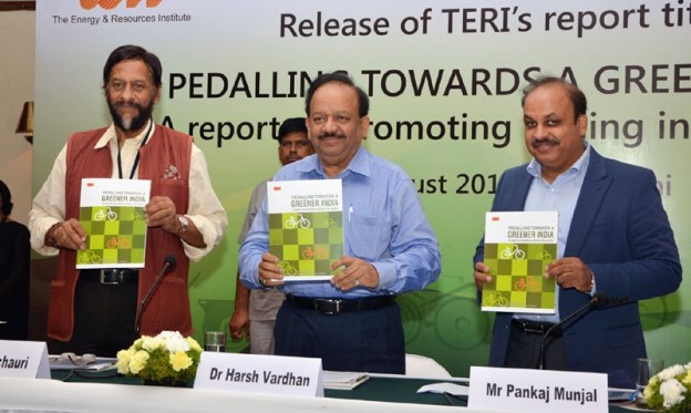 Peddling Towards A Greener India – Report Released by Dr. Harsh Vardhan