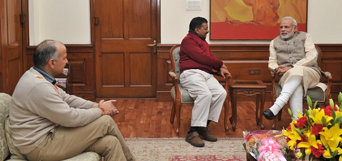 Two Strong Leaders. Let Us Hope for One Strong Delhi