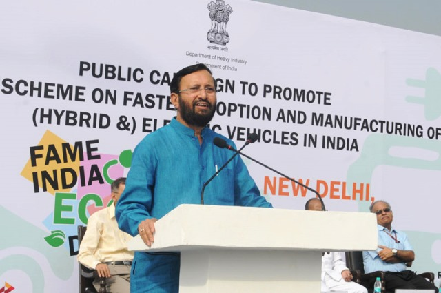 Scheme on Manufacturing Hybrid & Electric Vehicles under 'Make in India'