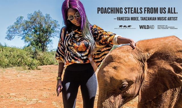 vanessa-mdee-tanzania-wildlife-campaign