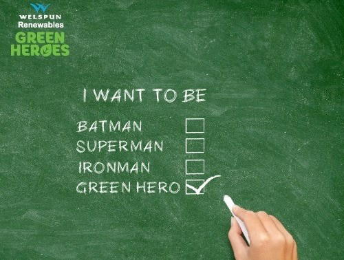 Welspun Renewables Green Heroes Project Invites Nominations