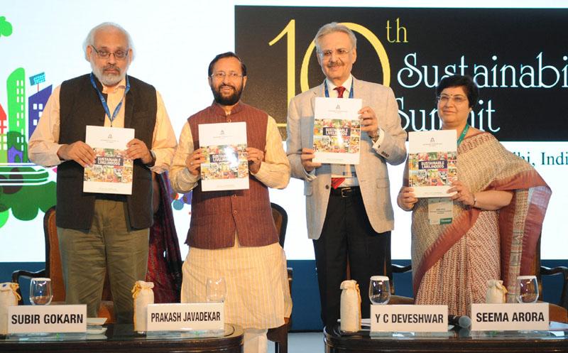 Prakash Javadekar Releases Book on Sustainability