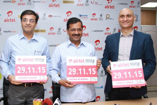 Konica Minolta at Airtel Delhi Half Marathon to Support Underprivileged Children