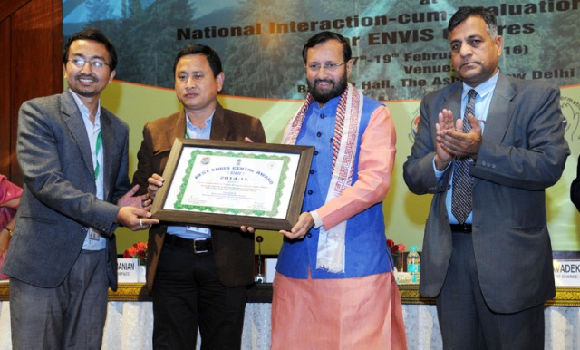 Environment Information System (ENVIS) Awards Presented