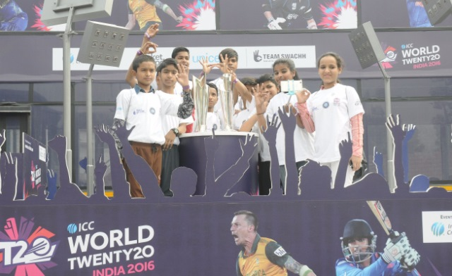 UNICEF's Swachh Clinic Initiative Campaign Reaches ICC T20