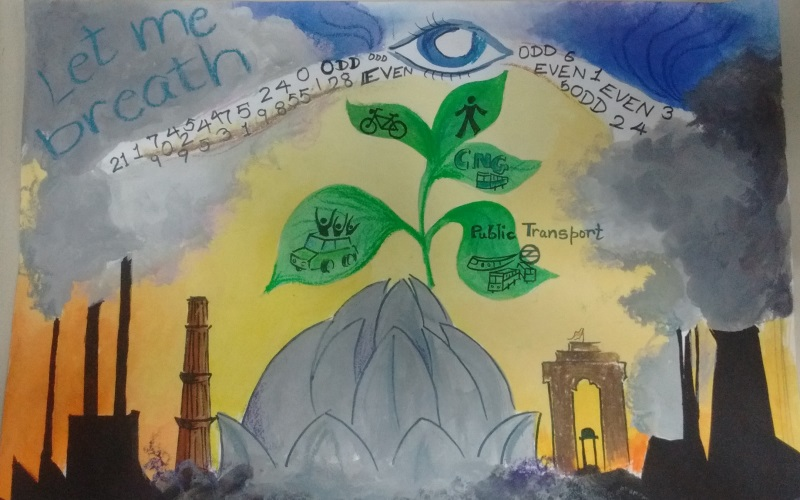 DoE Earth Day Poster Making Competition Winner