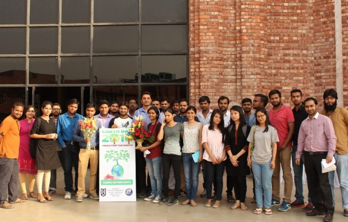 Report on Earth Day 2016 Celebrations at SES, JNU