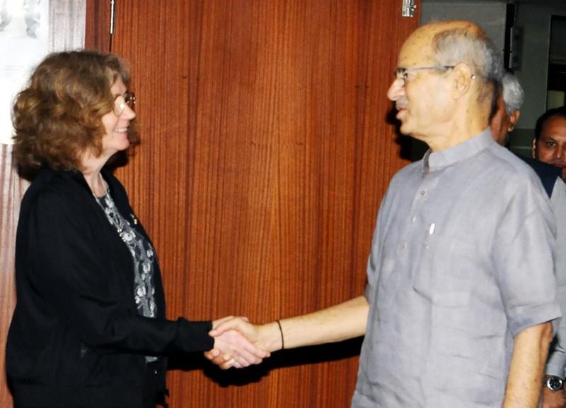 Environment Minister Anil Madav Dave Meets Sweden State Secretary