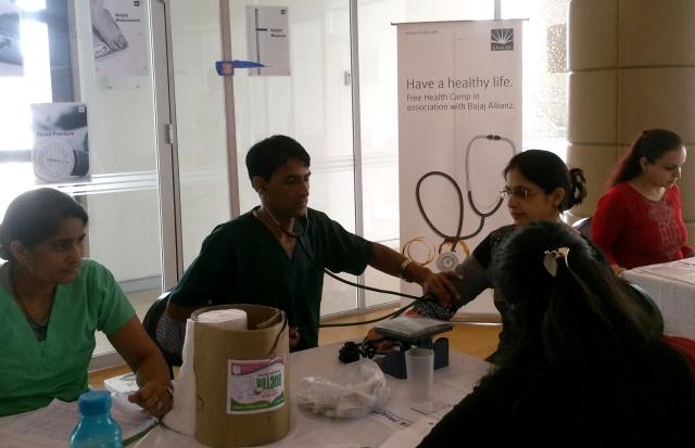 Emaar India Organises Health Check-up Camp