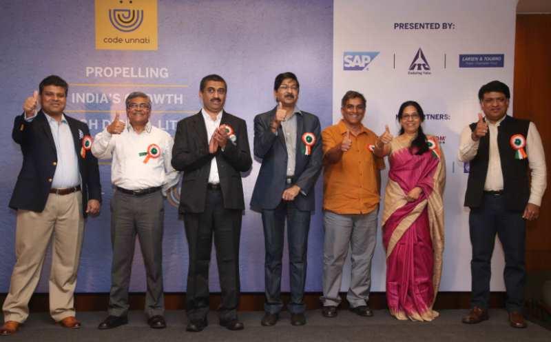 SAP India Collaborates with ITC, L&T to Launch Code Unnati