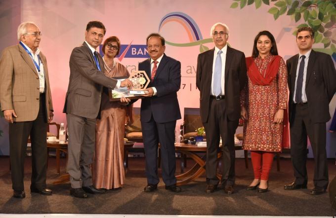 Ambuja Cement Bags Yes Bank Natural Capital Award 2017