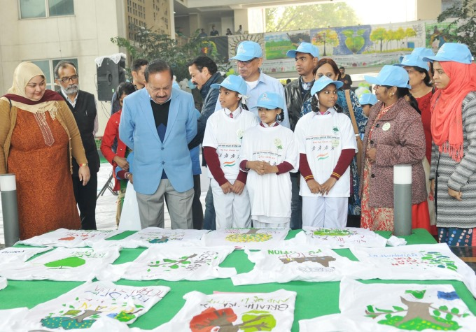 Painting and Slogan Competition Under Clean Air for Delhi Campaign