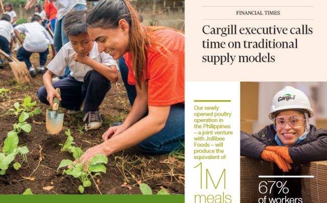 Cargill's 2018 Annual Report Highlights Commitment to Environmental Sustainability