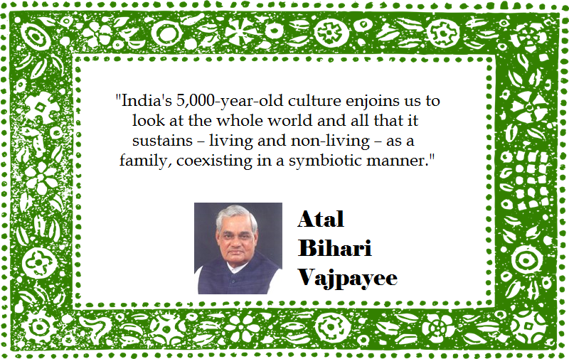 Speech of Former Prime Minister Atal Bihari Vajpayee at COP/UNFCCC, 2002