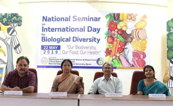 Biodiversity Day 2019 Celebrated at MDS University, Ajmer