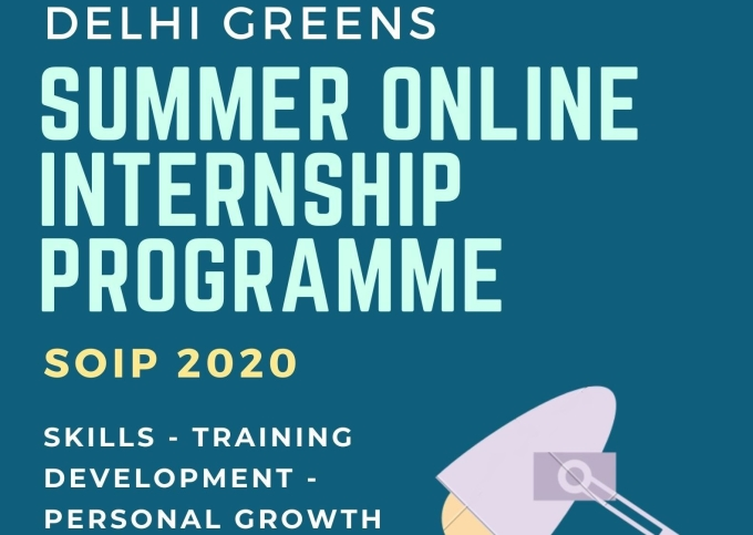 Delhi Greens Invites Applications for Summer Internship Programme