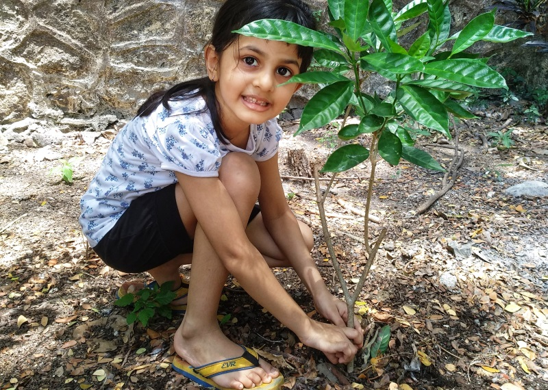 While Elders Act Like Children, 6 year old Agrata is Making Apps for Trees