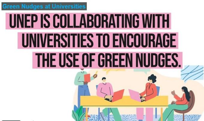UNEP Green Nudges Programme for Universities