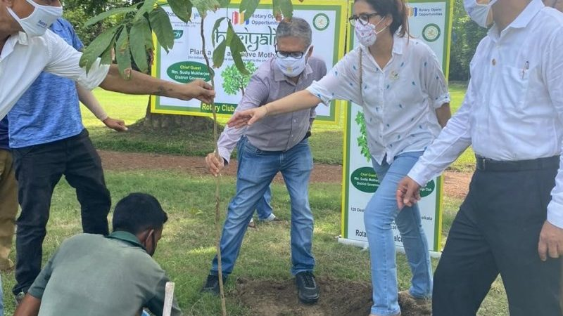 RSH Global Contributes to Haryali for Green Amphan Recovery