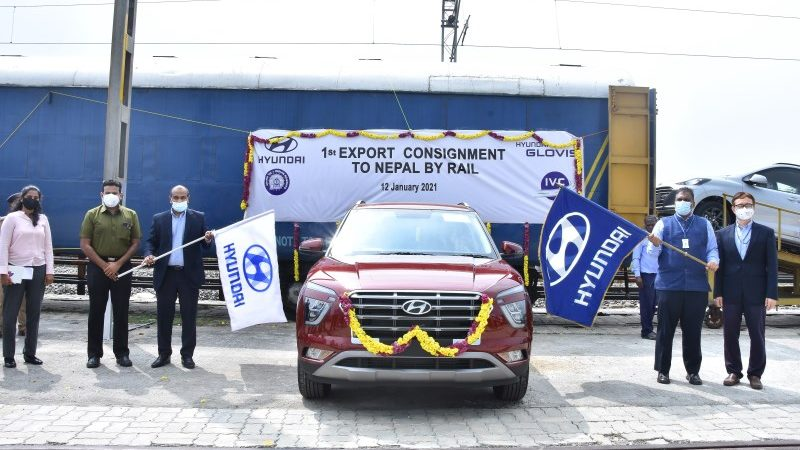 Hyundai Begins Eco Friendly Export of Cars to Nepal