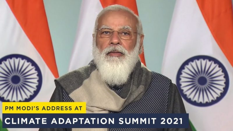Watch PM Narendra Modi Address Climate Adaptation Summit 2021