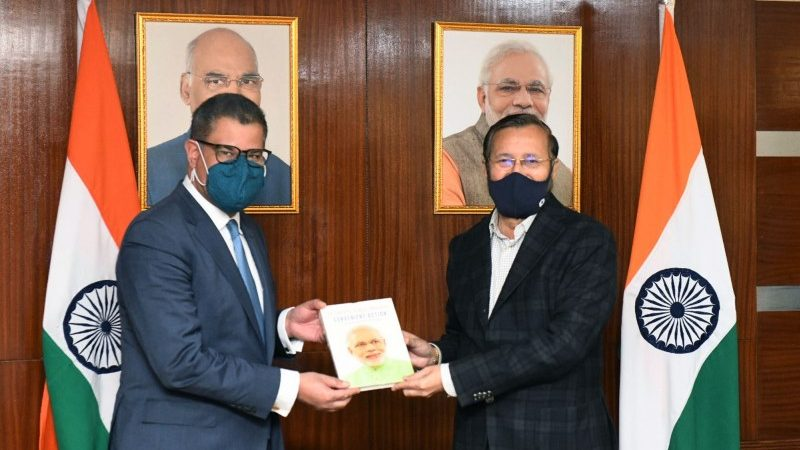 Environment Minister Meets UNFCCC CoP26 President Alok Sharma