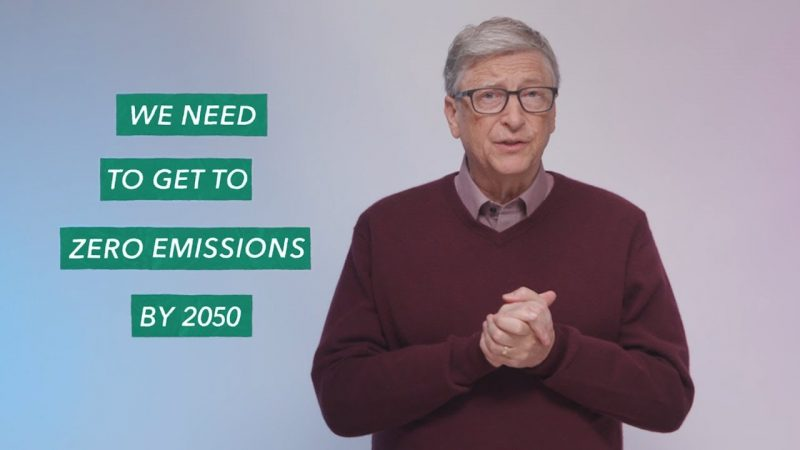 Bill Gates Shares Solution to Climate Crisis