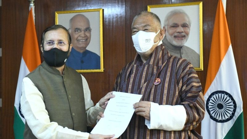 India-Bhutan Sign MoU for Environmental Protection