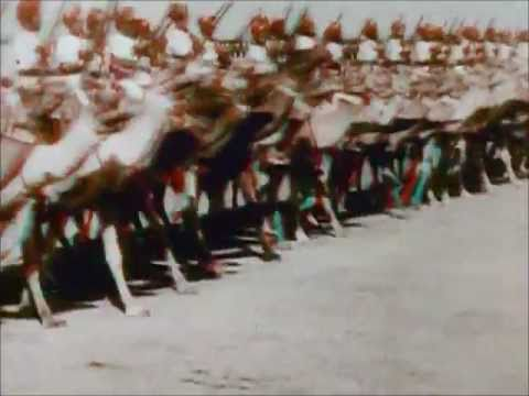 Rare Colour Footage of Delhi Durbar of 1911 at Kingsway Camp