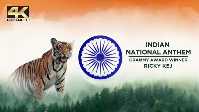 Wildlife of India Collage Video Saluting National Anthem