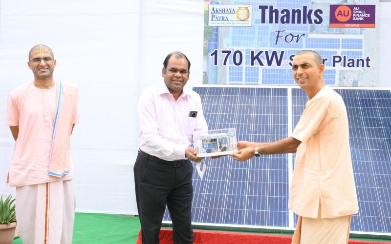 AU Bank solar kitchen