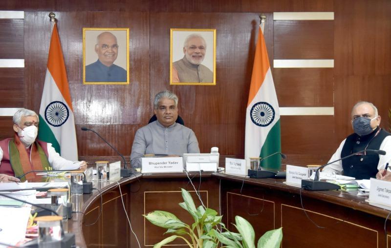 Environment Minister Bhupender Yadav
