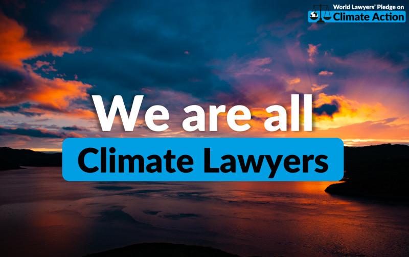 World Lawyers Climate Pledge